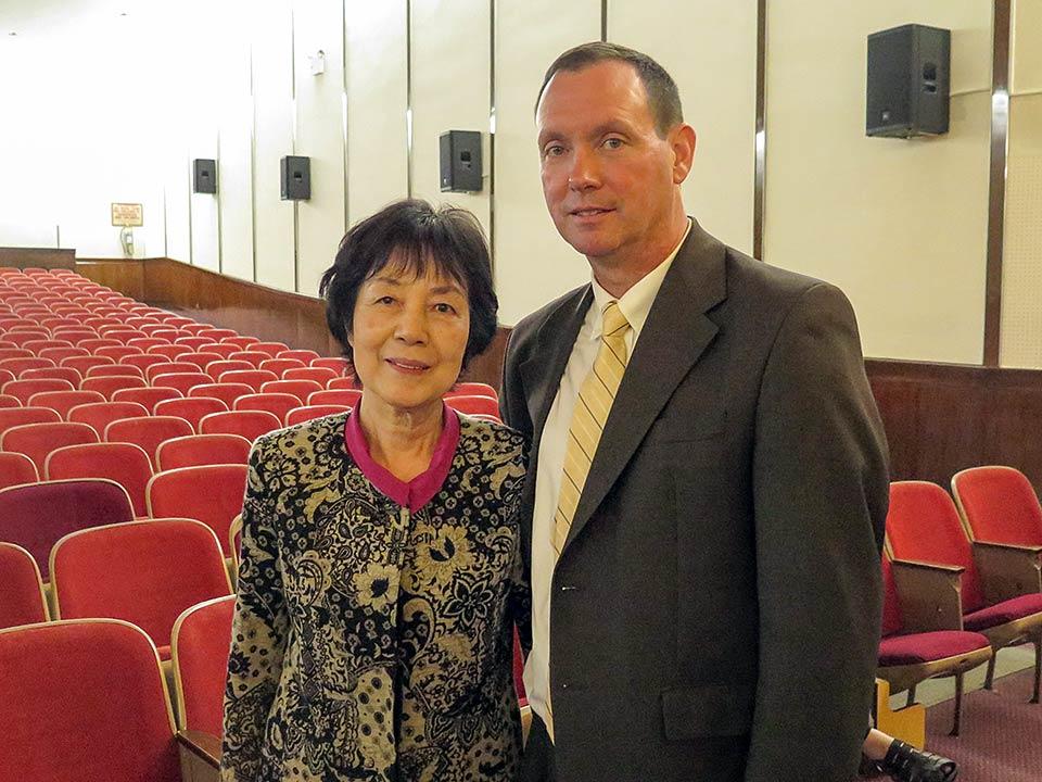 Reiko Yamada & Daniel O'Keefe, Cardinal Spellman