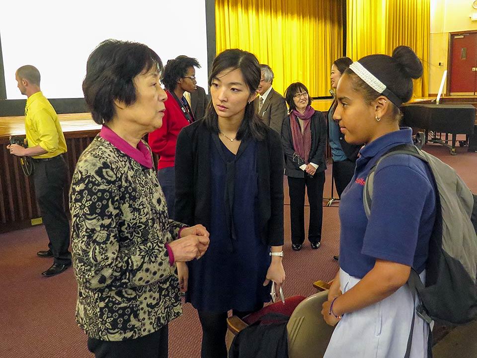 Reiko Yamada, Cardinal Spellman High School