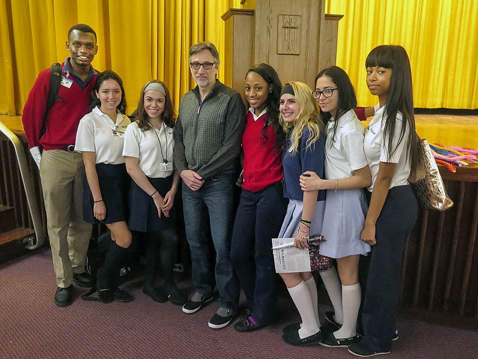 Clifton Daniel, Cardinal Spellman students