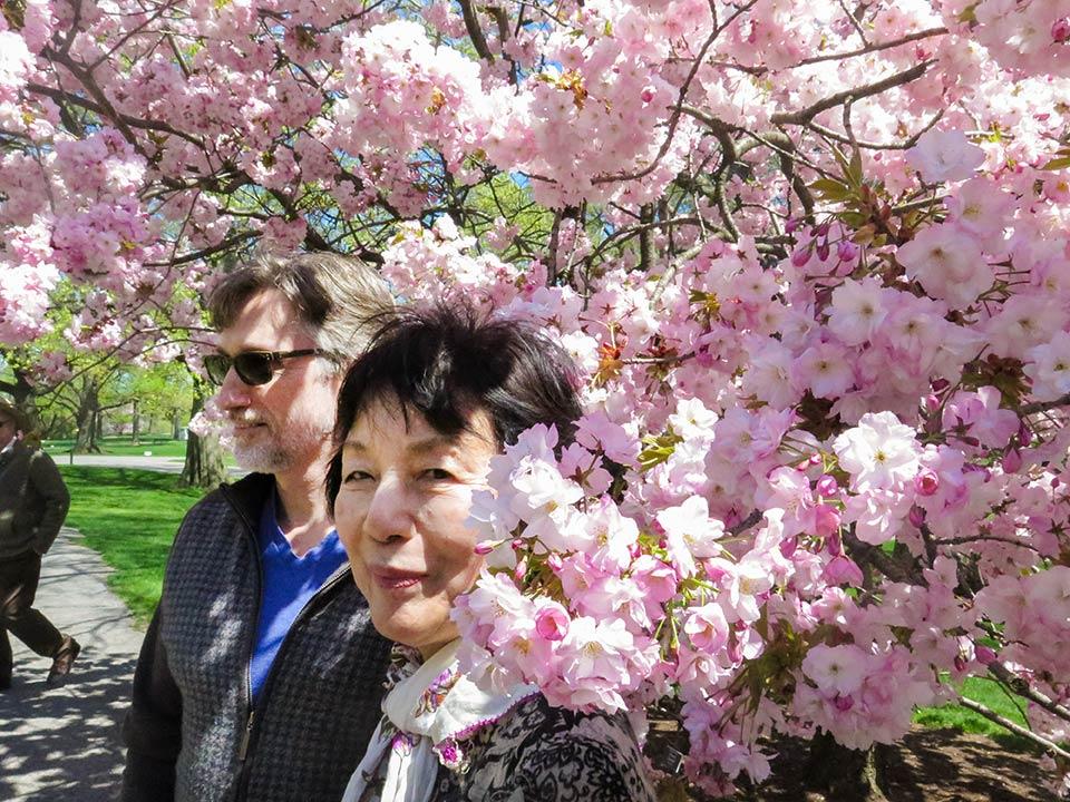 Clifton Daniel, Reiko Yamada, New York Botanical Garden