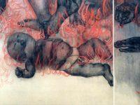 Hiroshima Panels, Fire (1950)