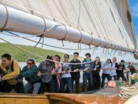 EF Academy students hoist the sails