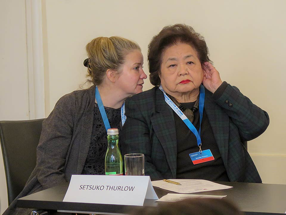 Kathleen Sullivan, Setsuko Thurlow