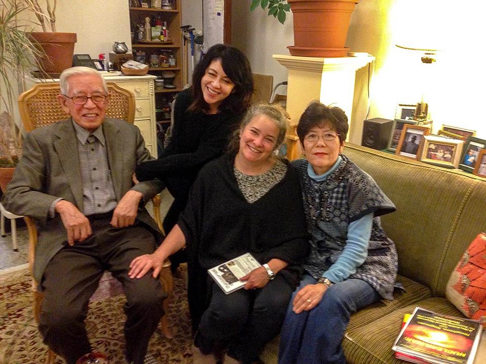 Michi Hirata, Marie Cochrane, Kathleen Sullivan, Yoshiko Hayakawa