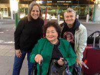 Debra Brindis, Setsuko Thurlow, Robert Croonquist