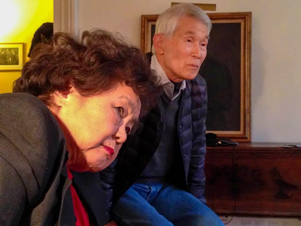 Setsuko Thurlow, Yasuaki Yamashita