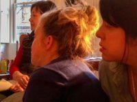 Marie Cochrane, Kathleen Sullivan, Mitchie Takeuchi