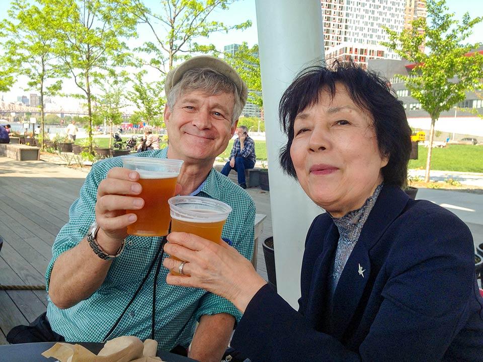 Robert Croonquist, Reiko Yamada