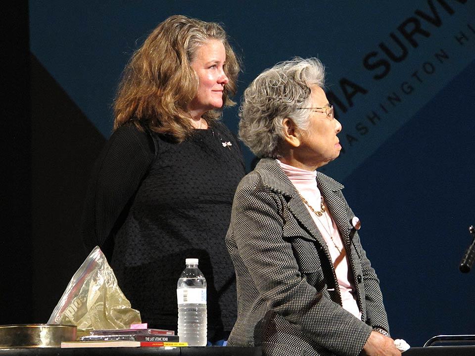 Kathleen Sullivan, Shigeko Sasamori